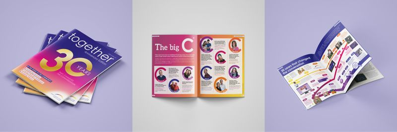 Anniversary Edition of Together magazine